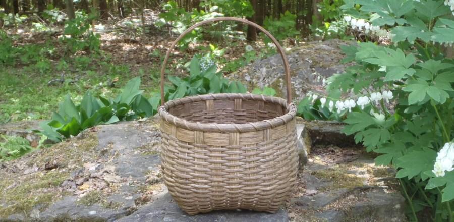 Shaker Cathead Basket