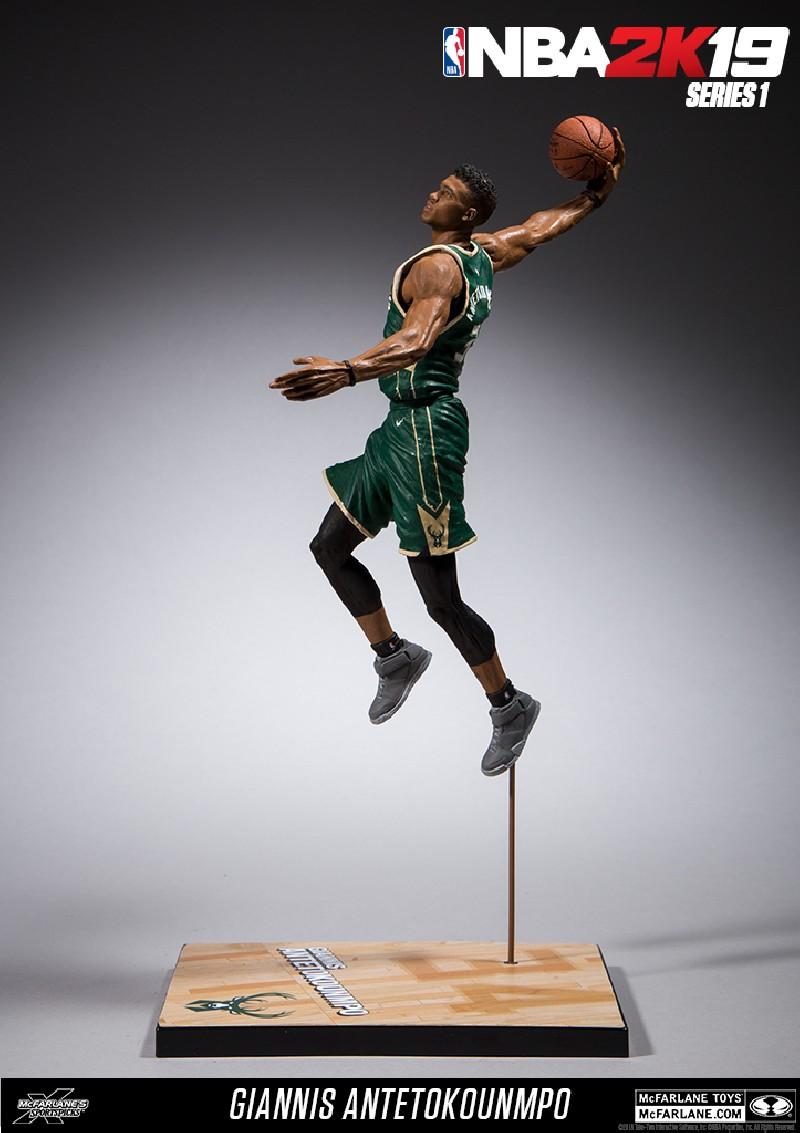 Figurine NBA 2K19 Giannis Antetokounmpo Des Milwaukee Bucks