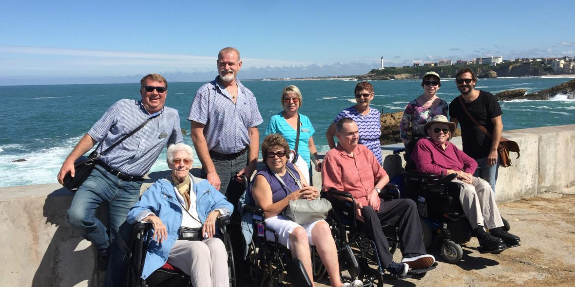 Accessible Basque French Coastline Tour Group
