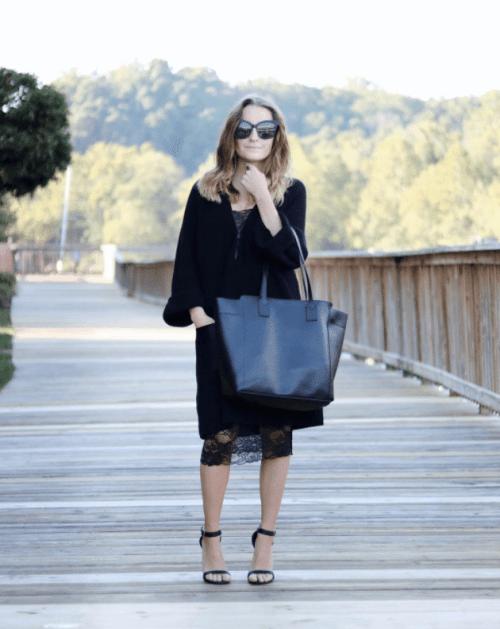 Basking in Burgundy- Style Blogger