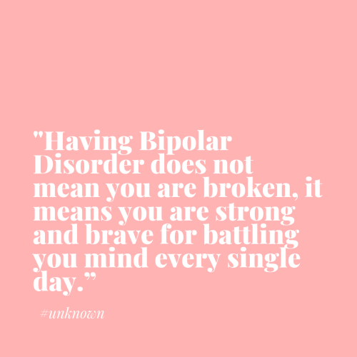 Bipolar Quote Basking in Burgundy