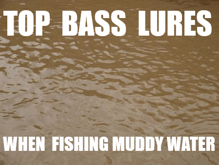 BEST BASS LURES FOR MUDDY WATER