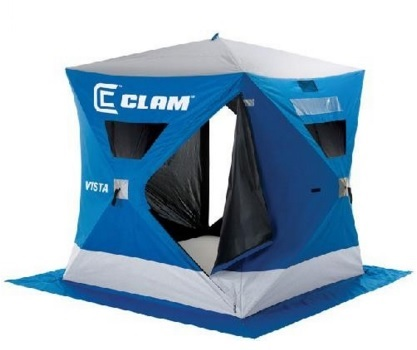 best two man ice fishing shelter