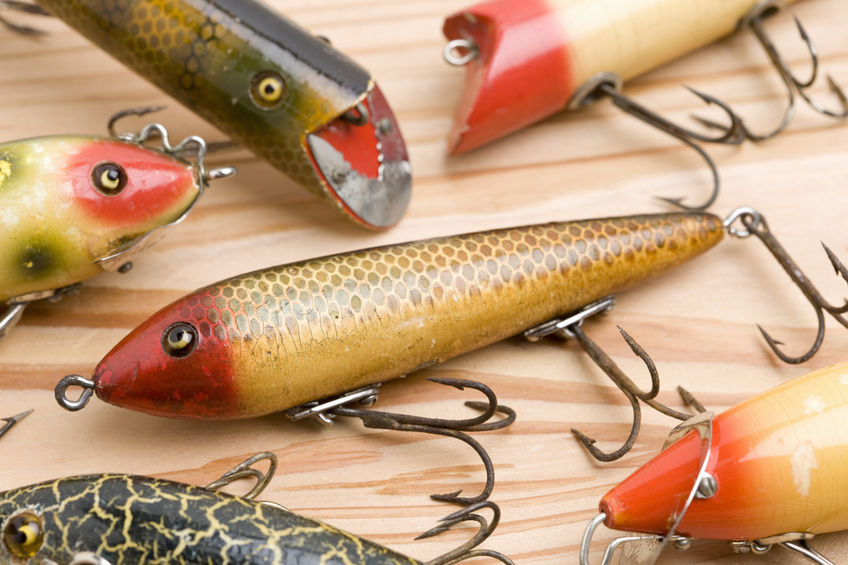 are old fishing lures worth money