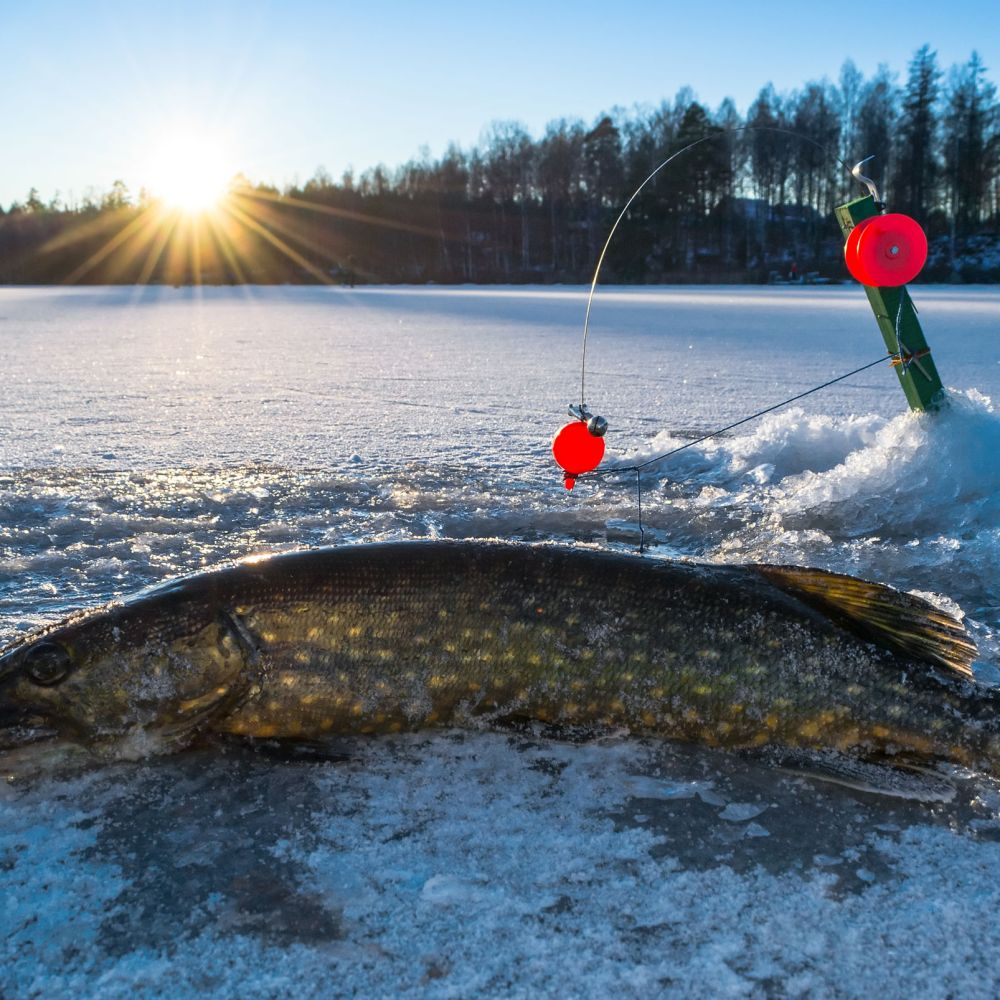 can you use a baitcasting reel for ice fishing