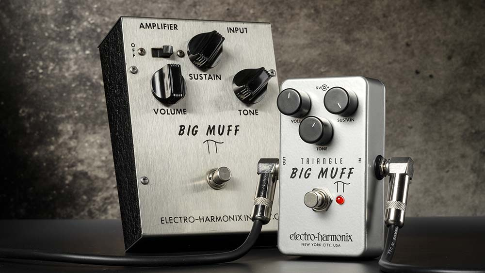 Electro-Harmonix Announces The Re-Release of Their Classic Triangle Big Muff PI