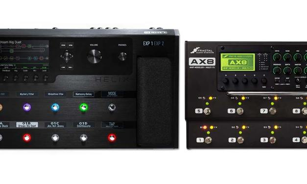 """Fractal Audio Systems AX8 and Line 6 Helix – """"A Model Comparison"""""""