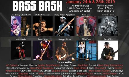 The Bass Bash is back for 2019!