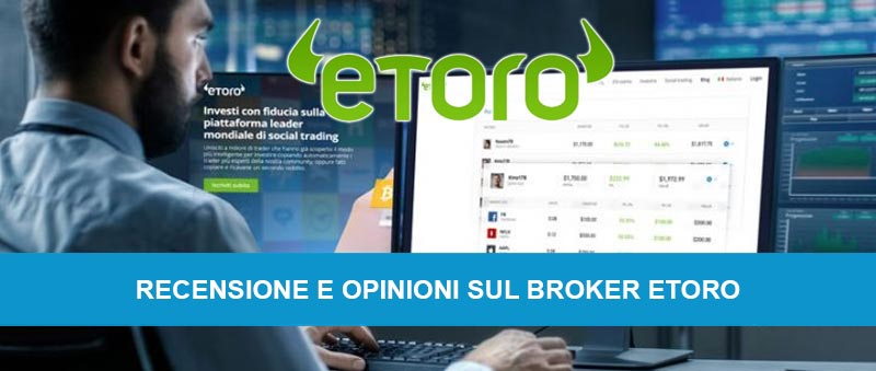 Comercio de demostración en línea con el corredor eToro