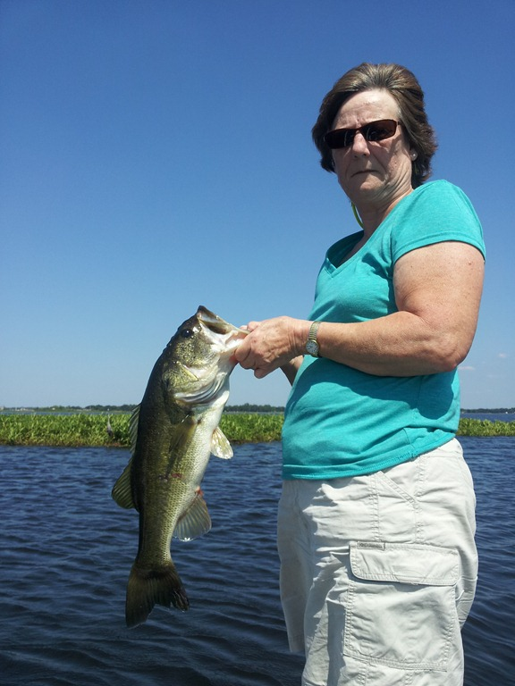 Fishing report for orlando florida orlando bass fishing for Bass fishing orlando