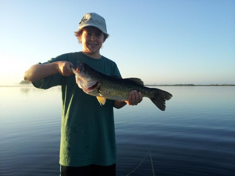 Summer of 2012 on lake toho bass fishing capt john leech for Florida bass fishing guides
