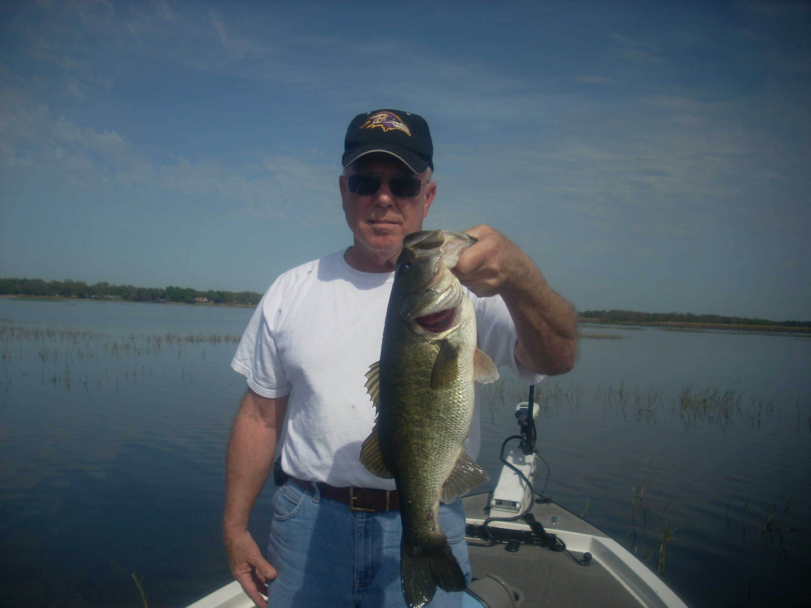 Bass fishing with capt kip central florida bass guides for Bass fishing trips