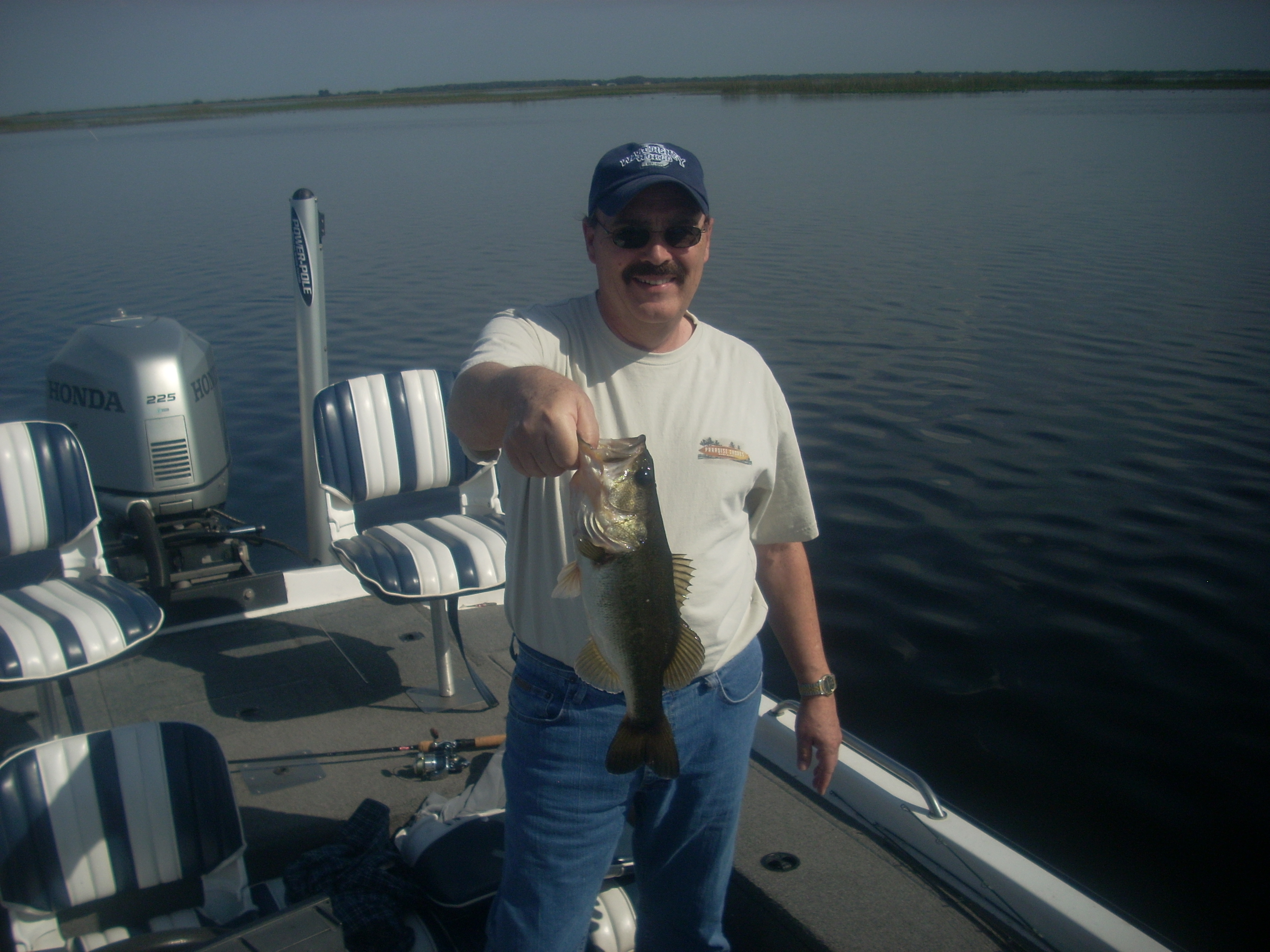 Bass fishing with capt kip central florida bass guides for Capt al fishing report