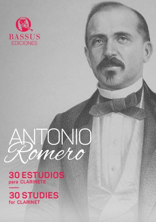 30 estudios Antonio Romero para clarinete