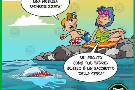 Vignette Divertenti Del Mare Powermall