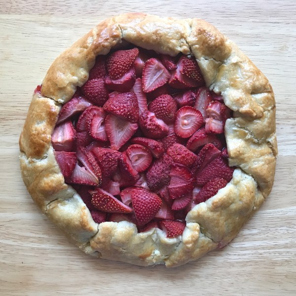 Simple Strawberry Galette