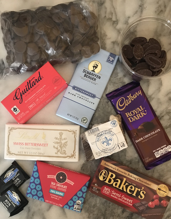 chocolates for tasting