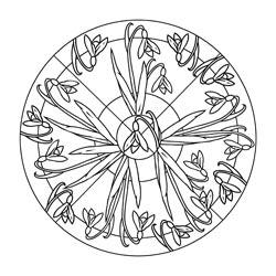 Mandalas Fr Den Frhling Basteln Amp Gestalten