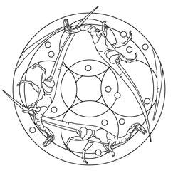 Mandalas Mit Dinos Basteln Amp Gestalten