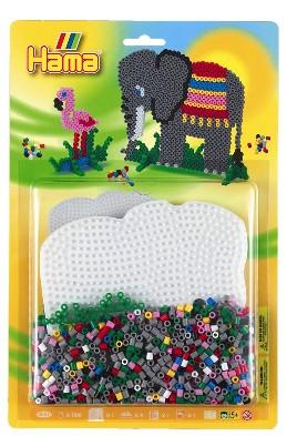 Stiftplatte Fur Midi Bugelperlen Elefant Klein 1 28 Eu