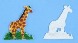 Hama Stiftplatte Giraffe Weiss Midi Stiftplatten Stiftplatten