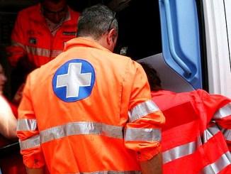 Incidente sul lavorooperaio colpito dascarica elettrica, è in ospedale, non è grave