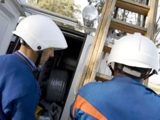 Enel, a Bastia Umbria manutenzione e potenziamento linee elettriche
