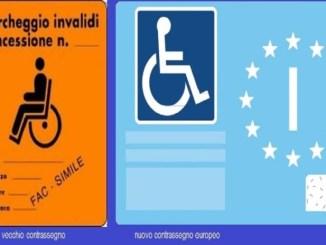 """Il vecchio contrassegno """"disabili"""" dal 15 settembre 2015 va sostituito"""