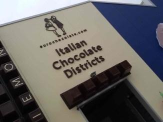 Asterisco all'Expo di Milano per l'insegna di Eurochocolate e non solo