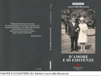 """Il libro """"D'amore e di Esistenza"""" di Luca LuBa Barcaccia presso Musica e Libri"""