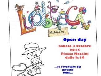"""Open Day della Ludoteca Comunale """"G.Rodari"""", """"…le avventure del giovane Jons…"""""""
