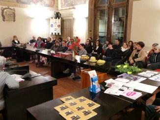 Giornata Internazionale contro la violenza sulle Donne, sala della Consulta piena
