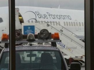 Problema aereo di linea al San Francesco d'Assisi, allarme rientrato