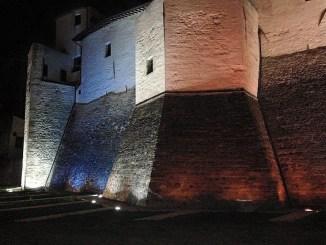 Domenica 1 ottobre sarà illuminata di Rosa la Rocca Baglionesca