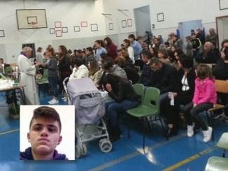Antonio Perrella, Santa Messa in memoria del giovane morto a Bastia Umbra