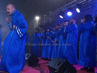 Jubilation Gospel Choir, una splendida corale in piazza a Bastia