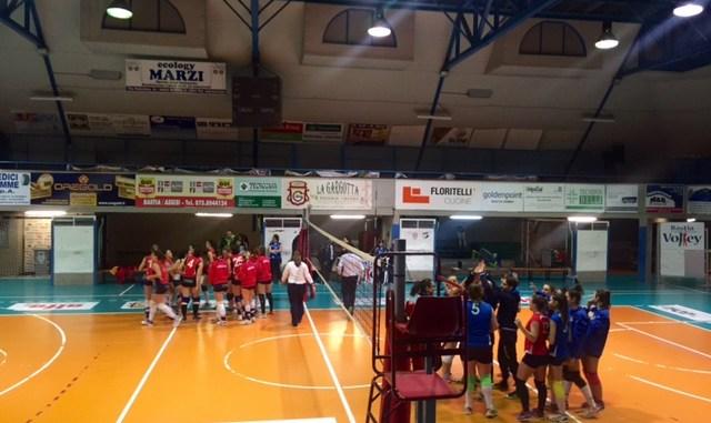 Volley, Goldenpoint Bastia a valanga, san Feliciano ko