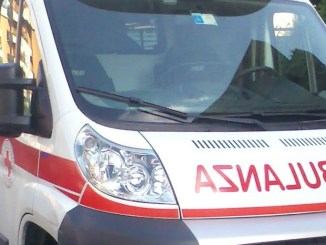 Incidente stradale 75 Centrale Umbra ad Ospedalicchio, scontro frontale, 4 feriti