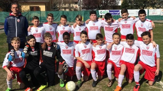 Esordienti 2003: Accademia Calcio Bastia – Pontevilla 3-2 (2-1, 1-1, 1-1)