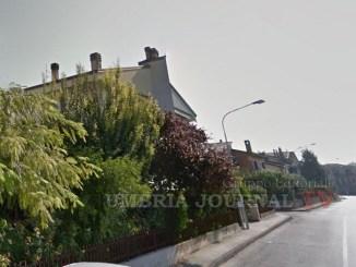 Via Marzabotto a Bastiola di Bastia Umbra, i ladri erano lì da giorni