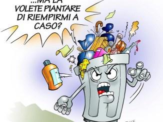 Mancato ritiro rifiuti causa sciopero operatori Gesenu