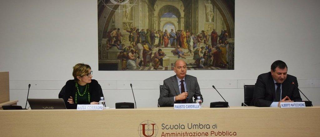 Villa Umbra, contrasto alla corruzione, oggi seminario con Anna Corrado e Fausto Cardella