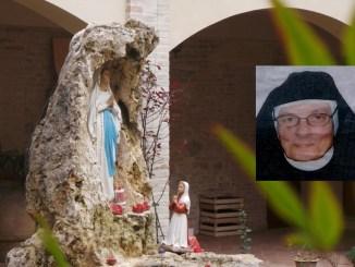 Bastia Umbra, è morta Suor Crocifissa, dopo 75 anni di vita monastica