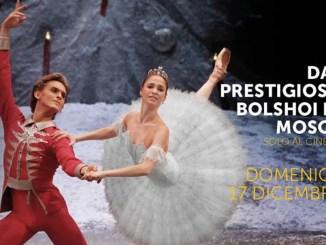 Lo Schiaccianoci dal Bolshoi in diretta all'Esperia di Bastia Umbra
