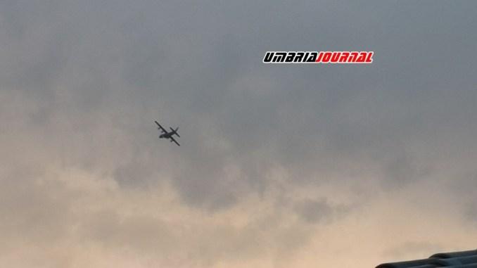 Un aereo a bassa quota creato un po' di disagio ai residenti, ma era