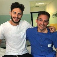 Andrea Ranocchia difensore Inter è diventato papà si chiama Lorenzo anche in onore a Perugia