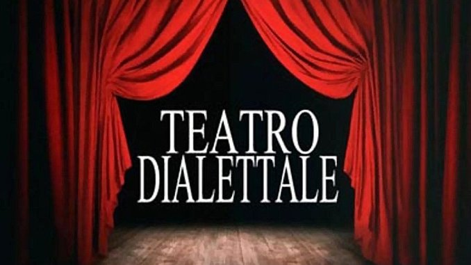 Commedia brillante teatro in vernacolo perugino in Piazza Mazzini