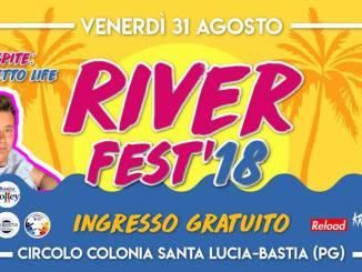 Ritorna a Bastia il River fest, alla Colonia di Santa Lucia il 31 agosto