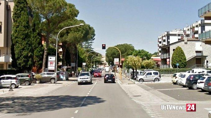Via Roma Bastia Umbra chiusa al traffico da via Marconi a Viale Umbria, per lavori