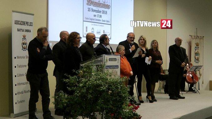 Francesco Guarino riceve premio alla cultura 2018 dell'Insula Romana
